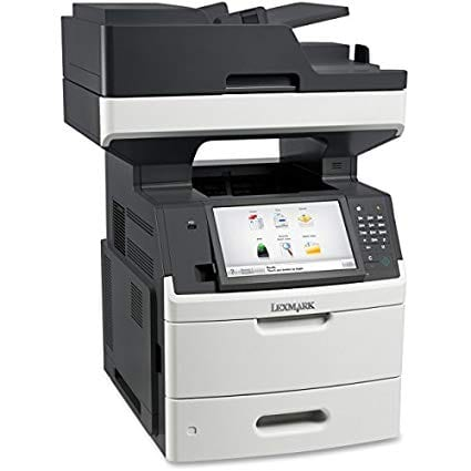 Lexmark Mx711dhef multi function copiers