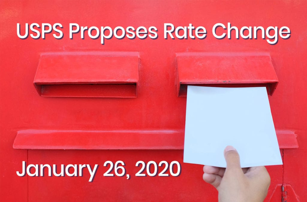 USPS Postage Rate Increase in 2020