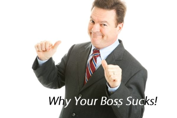 Your Boss Sucks - Cocky Manager