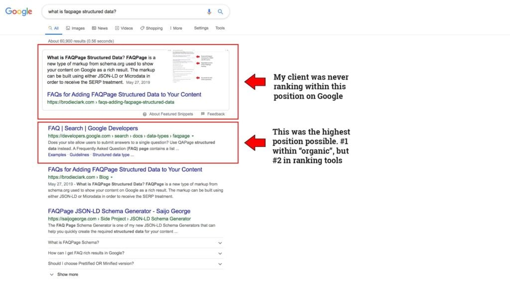Google Featured Snippet Update