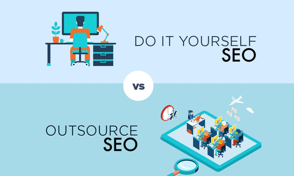 Outsource SEO VS DIY