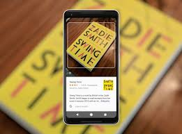 Google Lens to scan and locate information