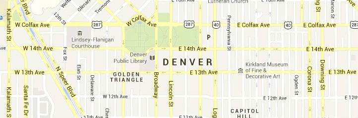 denver co map