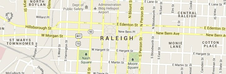 raleigh-map